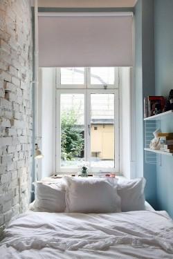 6 soluciones inteligentes para ahorrar espacio en habitaciones peque as - Mesita noche pequena ...