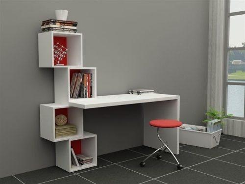 Muebles funcionales para optimizar espacios peque os for Muebles de escritorio modernos para casa