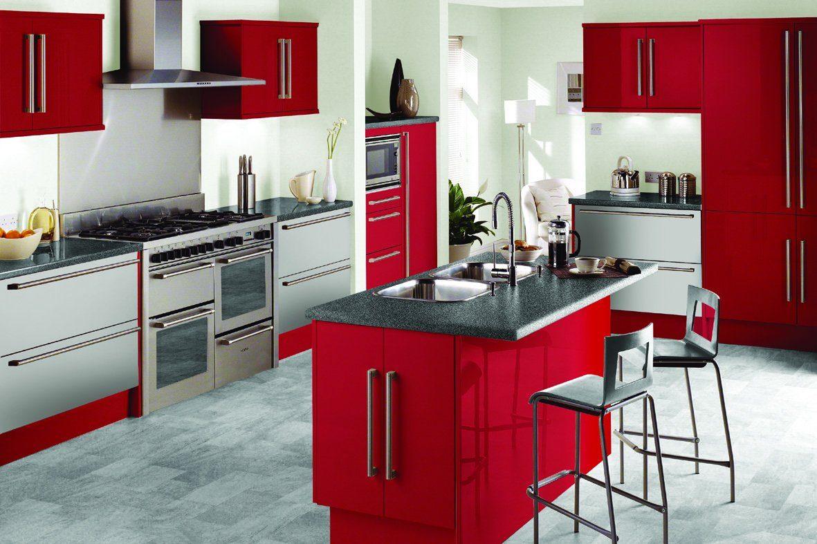 Cocinas con isla central with cocinas con isla central for Cocinas modernas con isla central