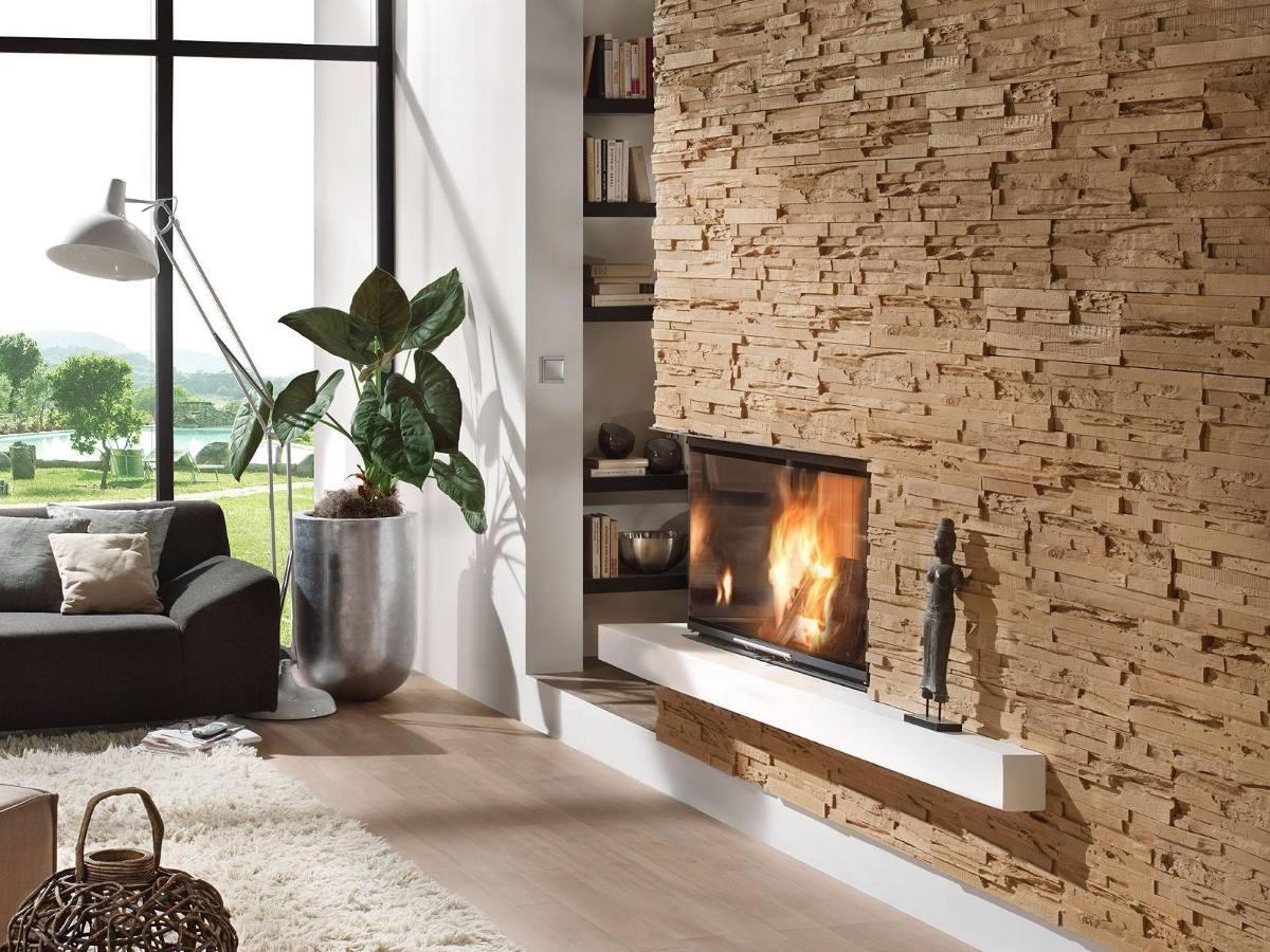 Tipos de revestimientos de paredes limay arquitectura - Revestimientos de paredes imitacion piedra ...