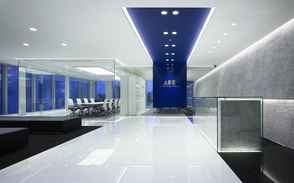 Arquitectura Corporativa en espacio interior