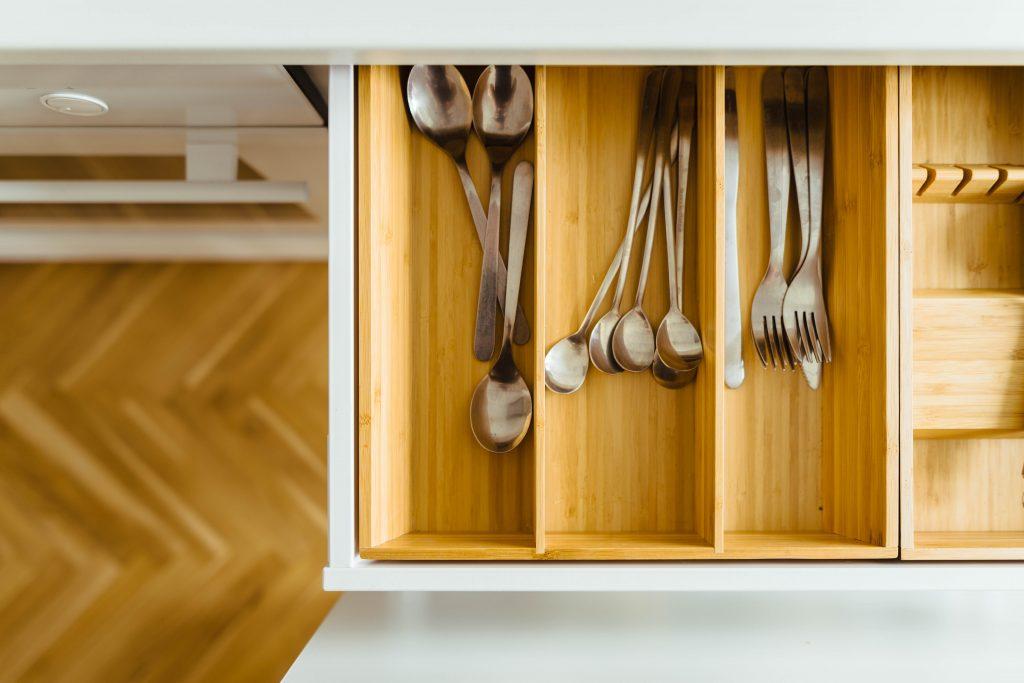 Tendencias en decoración de cocinas gavetas